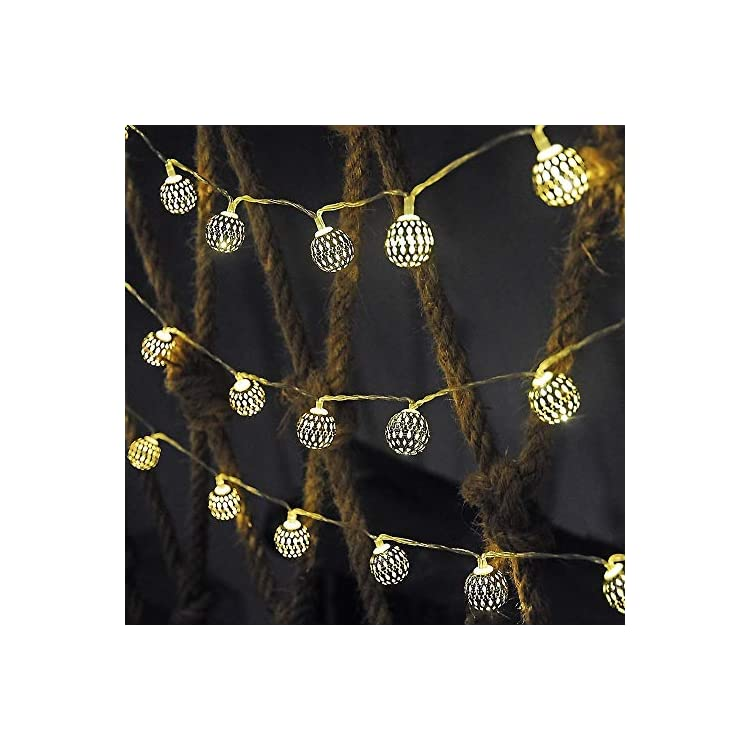 20-LED-Watermelon-String-Lights-Fairy-Twinkle-Novelty-Lights-Decoration,Battery-Operated-Powered-for-Patio-Christmas-Wedding-Decor-(Moroccan-Ball)