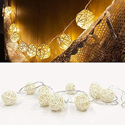 Battery-Decoration-Fairy-String-Lights---Small-Chinese-Yam-Type-(White)-Decorative-String-Lights-for-Christmas,-Home,-Garden,-Wedding,-Party,-Room,-Holiday-Decor,-Centerpiece,-Xmas-Tree-Decorations