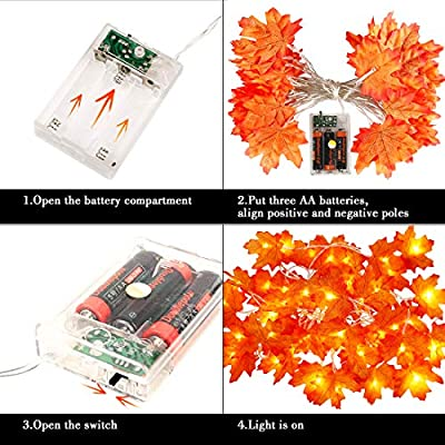 Thanksgiving-Decorations-Fall-Decor-Fall-Garland-Maple-Leaf-Light-40LED-Fall-Decorations-for-Home-Halloween-Decor-Fall-Leaves-Autumn-Indoor-Garden-Wedding-String-Lights-Battery-Powered