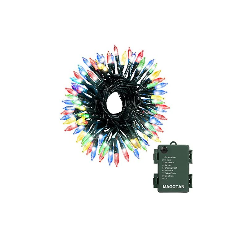 Christmas-Lights-50-LED-String-Lights-Battery-Operated-Clear-Mini-Lights-Set-with-Green-Wire-for-Thanksgiving-Day-Wreath-Christmas-tree-Bedroom-Indoor-Outdoor-Decoration,-Waterproof,-18ft,-Multi-Color