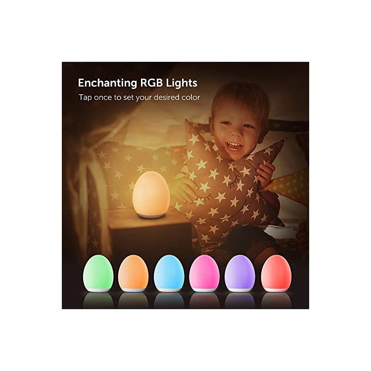 VA-CL009-Kids-with-Color-Changing-Mode-&-Dimming-Function-Rechargeable-Baby-Night-Light-with-Touch-Control-&-1-Hour-Timer,-up-to-100H,-White