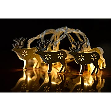 Deer-String-Lights-20-LEDs-6.6-ft-Fairy-String-Lights-Indoor-Outdoor-Decoration-for-Holiday-Xmas-Party-Wedding,-Battery-Powered