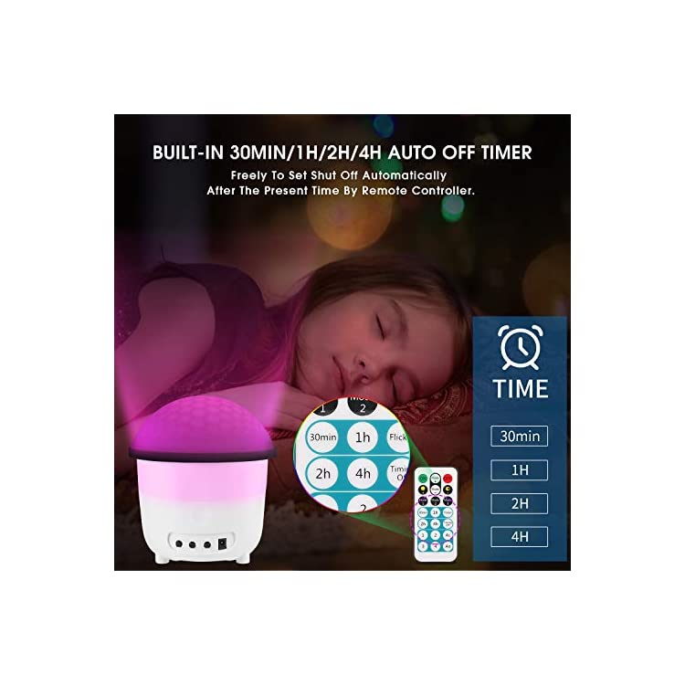 Night-Light-Projector,-2-in-1-Kids-Night-Lamp-Projector-Light-with-Remote-Control-Timers,-Sound-Activated-Mood-Nursery-Lamp-for-Baby-Kids-Bedroom-Living-Room