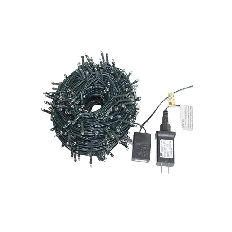 Odlamp-337FT-/102.8M-1000LED-String-Lights-Outdoor-Indoor-IP44-Waterproof-for-Christmas-Low-Voltage-30V-Output-Safely-to-Use-for-Christmas-Festival-Holiday-Wedding-Party-Garden-(1000LED,-Warm-White)