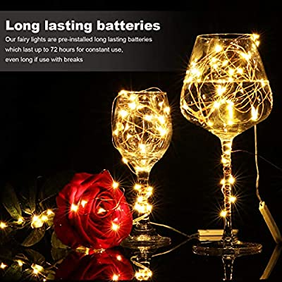 32-Pack-Led-Fairy-Lights-Battery-Operated,7.2Ft-20-LED-Copper-Wire-Warm-White-Firefly-Lights,Waterproof-LED-Mini-String-Lights-for-Wedding-Centerpieces-Mason-Jars-Crafts