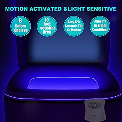 Toilet-Night-Light-(2Pack)-by-,-8-Color-Led-Motion-Activated-Toilet-Light,-Fit-Any-Toilet-Bowl,Toilet-Bowl-Light-with-Two-Mode-Motion-Sensor-LED-Bathroom-Night-Light-for-Mothers-Day-Gifts