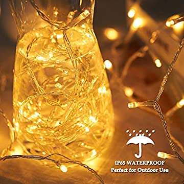 Indoor-String-Lights,-105ft-300-LED-String-Lights,-Waterproof-Outdoor-Christmas-Lights-8-Modes-&-Remote-Control,-Warm-White-Connectable-Fairy-Light-for-Bedroom,-Patio,-Party,-Wedding