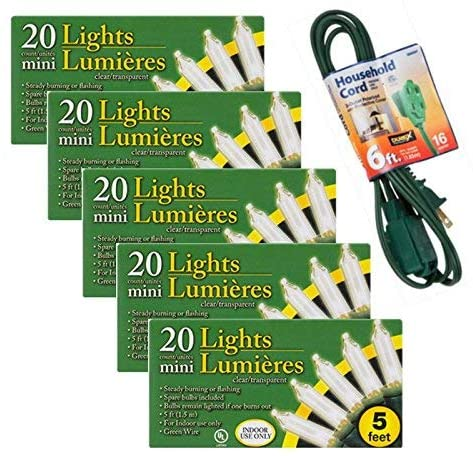 20-Bulb-Indoor-Clear-Christmas-Light-Sets,-5-ft.-Strands-(5)