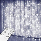 Curtain-Lights,-Upgrade-8-Lighting-Modes-Window-Fairy-Hanging-Light,-Icicle-Christmas-Ornaments-Lights-for-Decoration-Party-Wedding-Bedroom-(Cool-White)