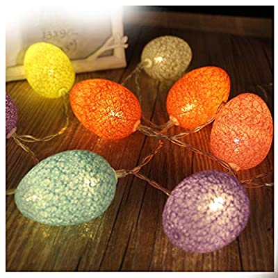 Pastel-Easter-Egg-Lights-String,-Spring-Easter-Decoration-Light,-Battery-Powered-LED-Festive-Fairy-Lights-for-Indoor-Outdoor-Wedding,-Birthday-Bedroom-House,-DIY-Home-Party-Decor-(Mix-Color-10-LEDs)