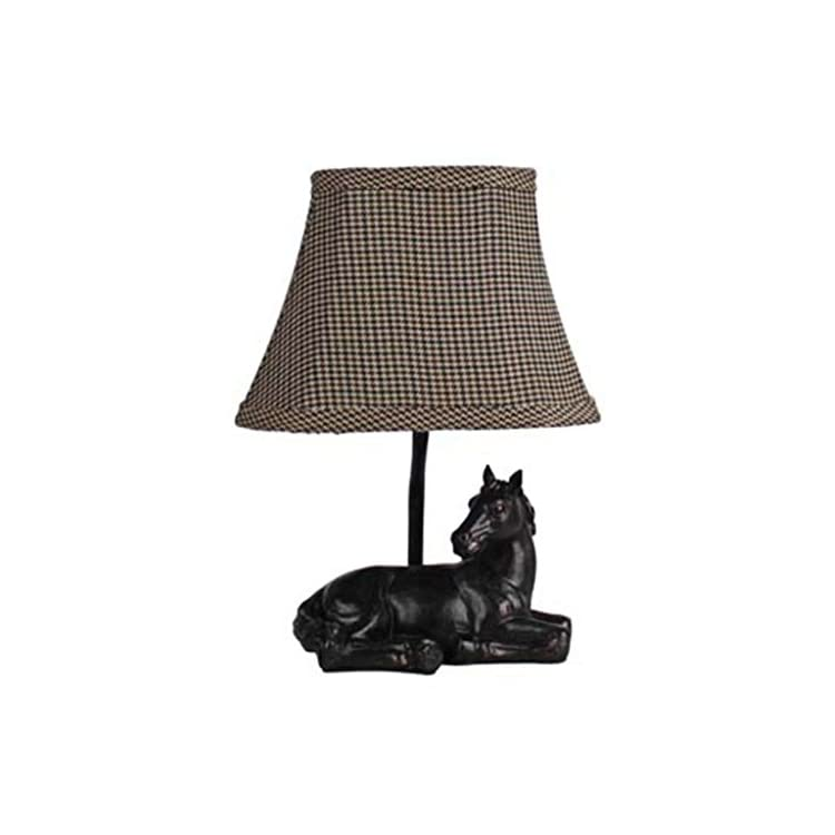 06624-1-Light-11''Meadow-Rest'-Horse-Lamp