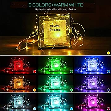 20-LED-Photo-Clip-String-Lights,-6.56ft-10-Color-Changing-Battery-Operated-&-USB-Fairy-Lights-with-Remote-Timer-for-Hanging-Photo-Banner,-Cards,-Memos,-Picture-Holder,-Indoor-Ambiance-Wall-Decor