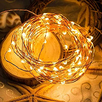 Fairy-String-Lights-Battery-Operated,-20Ft-60-LED-String-Lights-2-Pack-with-Remote-Timer-8-Lighting-Modes-Waterproof-Copper-String-Lights-for-Indoor-Outdoor-Party-Decor,-Warm-White