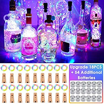 Wine-Bottle-Lights-with-Cork,-18-Pack-Fairy-Lights-Battery-Operated-LED-Cork-Shape-Silver-Wire-Fairy-Mini-String-Lights-for-Bedroom,-DIY,-Party,-Wedding-Gift-Decor-Indoor-Outdoor(4-Colors)