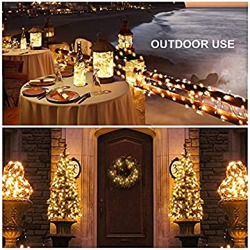 4-Pack-40ft-Starry-LED-String-Lights,-120-LED-Waterproof-Fairy-Lights-Copper-Wire-Christmas-Decor-Lights-Battery-Operated-8-Modes-for-DIY-Wedding,-Party,-Table-Decorations,-Warm-White