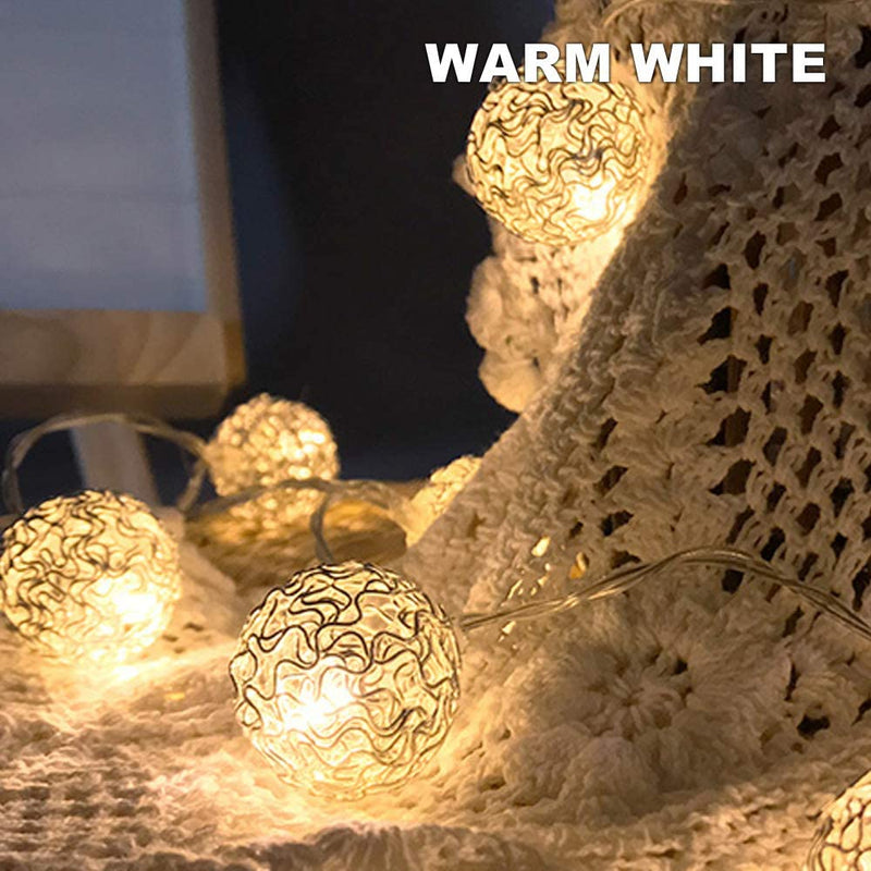 Battery-Powered-Fairy-String-Lights---String-Ball-Type-20-LED-(Warm-Wh