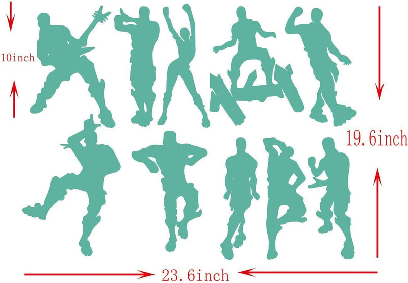 ALiQing-Game-Wall-Decal-Poster-Music-Skating-Dancing-Wall-Stickers-for