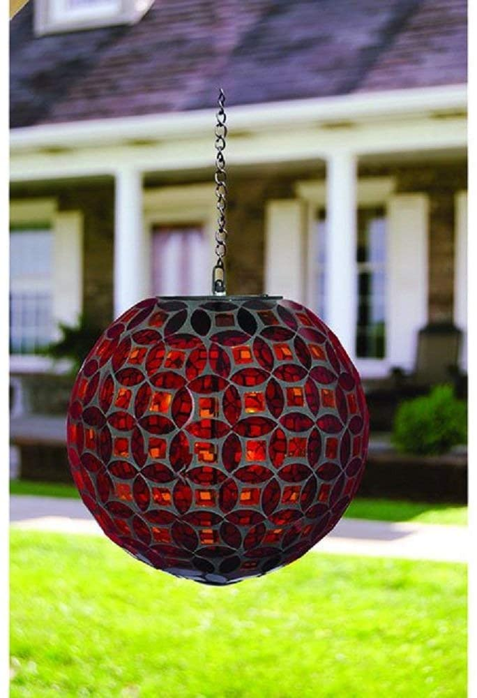 Red-Mosaic-Solar-Orb-Home-Decor