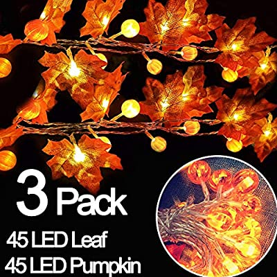 3-Pack-Thanksgiving-Lights-Maple-Leaves-Pumpkin-String-Lights-Thanksgiving-Decorations,-Total-30-Ft-&-90-LED-Fall-Decor-Battery-Operated-Fairy-Fall-Lights-for-Holiday-Autumn-Garland-Decoration