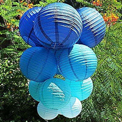 Decorative-Round-Chinese-Paper-Lanterns-12pcs-Assorted-Sizes-&-Colors-