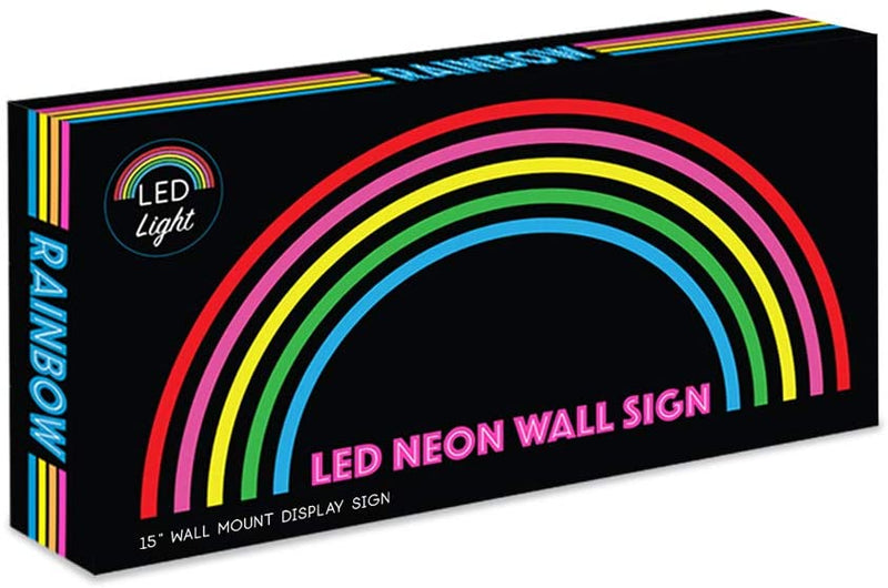 "15""-x-7.5""-inch-LED-Neon-'Multi-Colored-Rainbow'-Wall-Sign-for-Cool-Li"