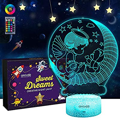 Angle-3D-Illusion-Lamp-16-Colors-Changing-Dimmable-Bedside-Lamp-with-Smart-Touch-&-Remote-Control-3D-Night-Light-for-Kids-Boys-Girls-Christmas-Birthday-Gift-Bedroom-Decor