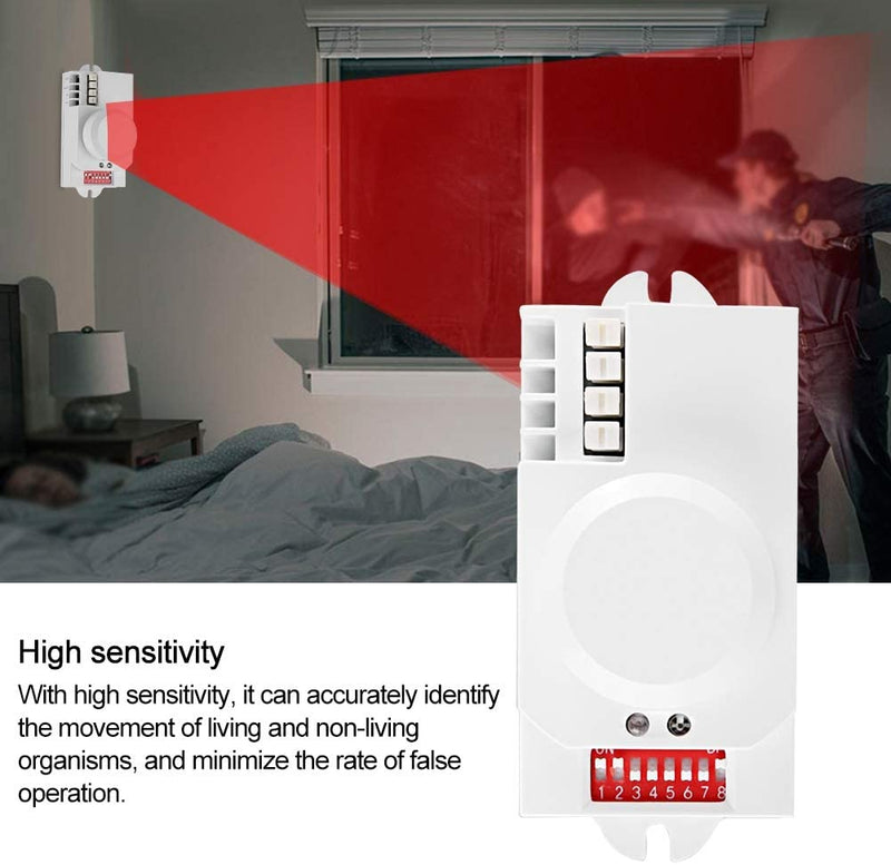 Human-Body-Induction-Sensor-for-LED-Light,360°-Microwave-Radar-Motion-