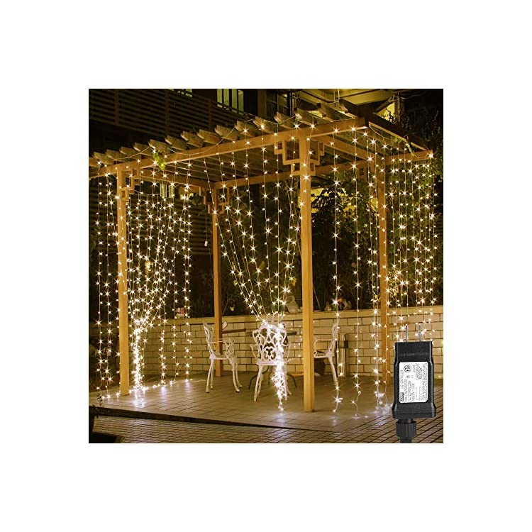 LE-306-LED-Curtain-Lights-|-Waterproof-Copper-Wire-Fairy-String-Lights-for-Indoor-Outdoor-Decoration
