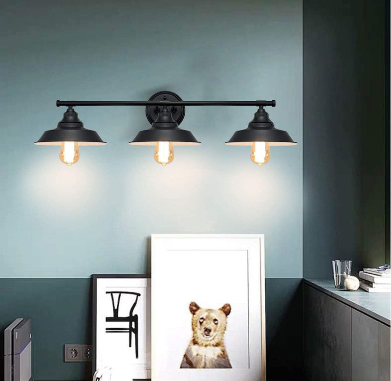 3-Light-Wall-Fixture,-Vanity-Industrial-Mate-Black-Bathroom-Wall-Sconc