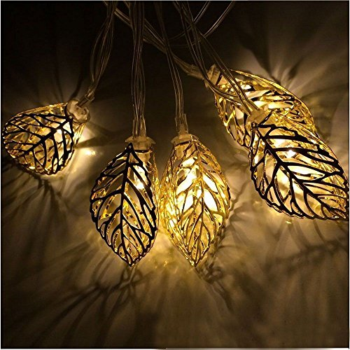LED-Copper-Leaf-Wire-String-Lights-with-Automatic-Daily-Timer-by-,-10ft./3m-w/-10-Long-Lasting-Bright-White-LEDs,-Battery-Powered,-Best-Home-Décor,-Arts-and-Crafts,-Accent-Lights