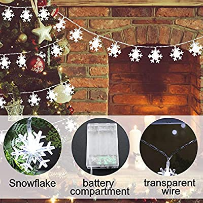 32FT-80LED-Battery-Operated-Christmas-Snowflake-String-Lights,-Christmas-Decoration-Holiday-Decor-Indoor-Outdoor,-Xmas-Home-Decoration-Home-Party-Supplies-Cold-White-Lights