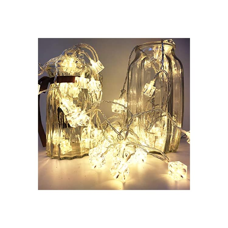 80-LED-String-Lights,-33FT-Mini-Cube-Christmas-Light,-AA-Battery-Operated-Warm-White-Cube-String-Lights-Indoor/Outdoor-Festival-Lights-for-Thanksgiving,-Christmas,-Party-Decor