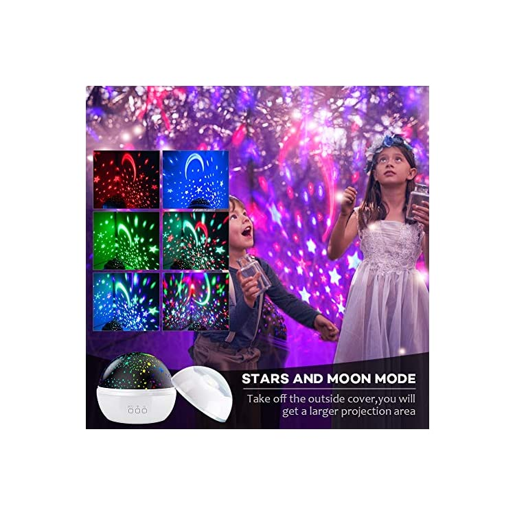 Night-Light-Projector,-2-in-1-Ocean-Undersea-Lamp-and-Starry-Sky-Projector,-360°-Rotating-8-Colors-Mode-LED-Night-Lights-Projector-for-Kids-Baby-Bedroom-Decoration