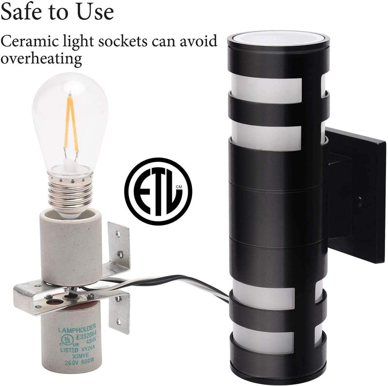 Modern-Outdoor-Wall-Sconce-Waterproof-ETL-Certified-Up-Down-Exterior-L