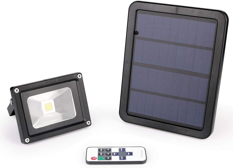 Solar-Flood-Light-Outdoor,-Wireless-LED-Solar-Powered-Floodlight-Remot