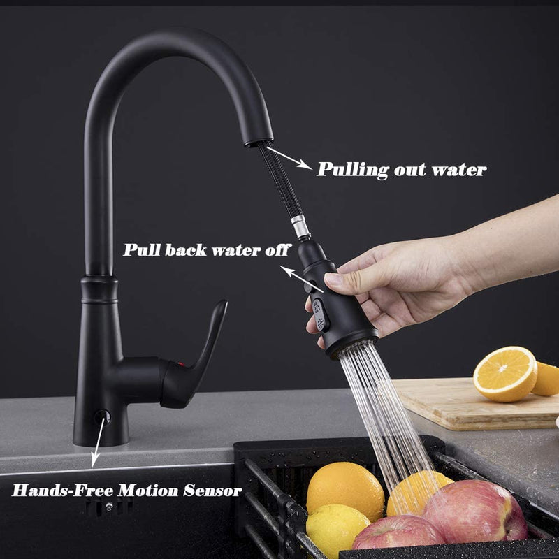 Touchless-Kitchen-Faucet-with-PullDown-Sprayer,20-Single-Kitchen-Sink-