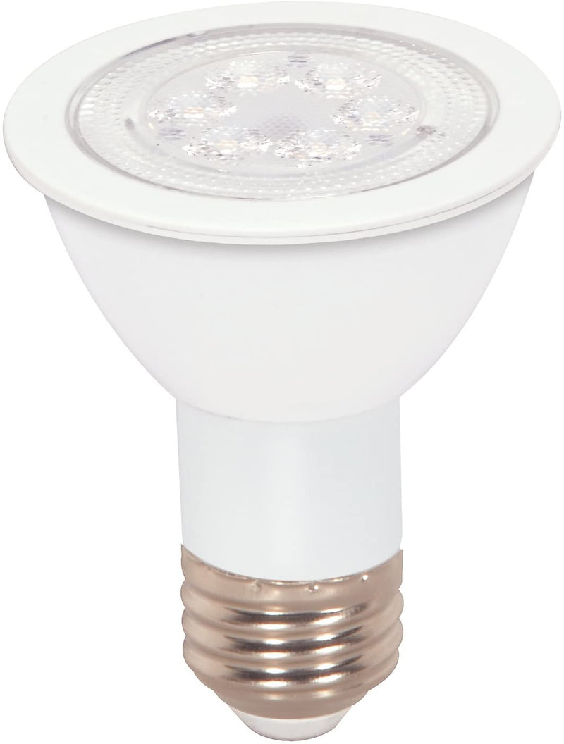 S9188-Medium-Bulb-in-Light-Finish,-3.25-inches,-7W,-Array-Red