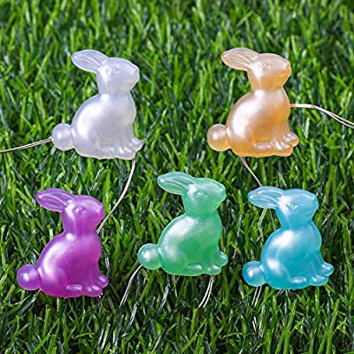 13.1-Feet-40-Easter-Bunny-Decoration-Lights-Bunny-Rabbit-LED-String-Lights-Battery-Operated-with-8-Flash-Modes,-Remote-and-Timer-for-Indoor-Outdoor-Party-Wedding-Birthday-Easter-Day-Decor