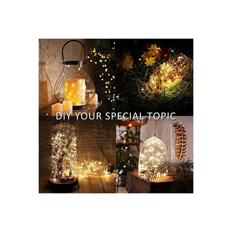 20-Pack-Fairy-Lights-Battery-Operated,-3.3ft-20-LED-Mini-Waterproof-Fairy-String-Lights-Copper-Wire-Firefly-Starry-Lights-for-DIY-Wedding-Party-Mason-Jars-Crafts-Christmas-Decoration,Warm-White