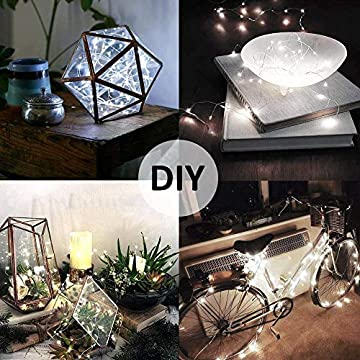 10ft-16-Pack-Fairy-Lights-Battery-Operated,-30-LEDs-Copper-Wire-Lights,-6000K-Cool-White-Mini-String-Light,-IP67-Waterpoof-Firefly-Starry-Light-for-DIY,-Mason-Jar,-Wedding,-Party