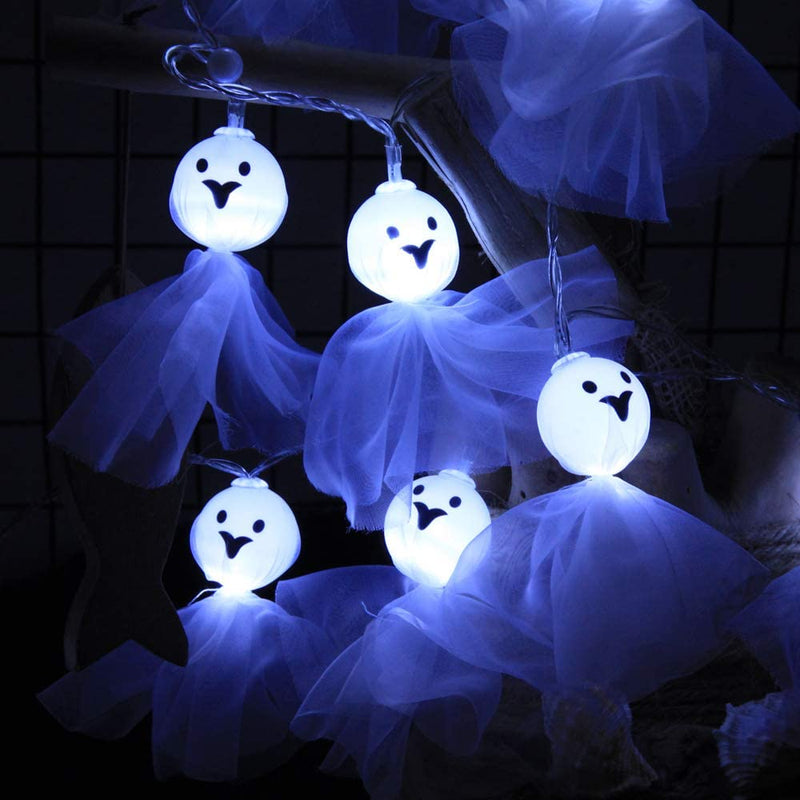 Halloween-Ghost-String-Lights-16ft-20-LED-Battery-Operated-Fairy-Lights-Halloween-Party-Decorations-Indoor-Outdoor-Twinkle-Lights-(Pure-White)