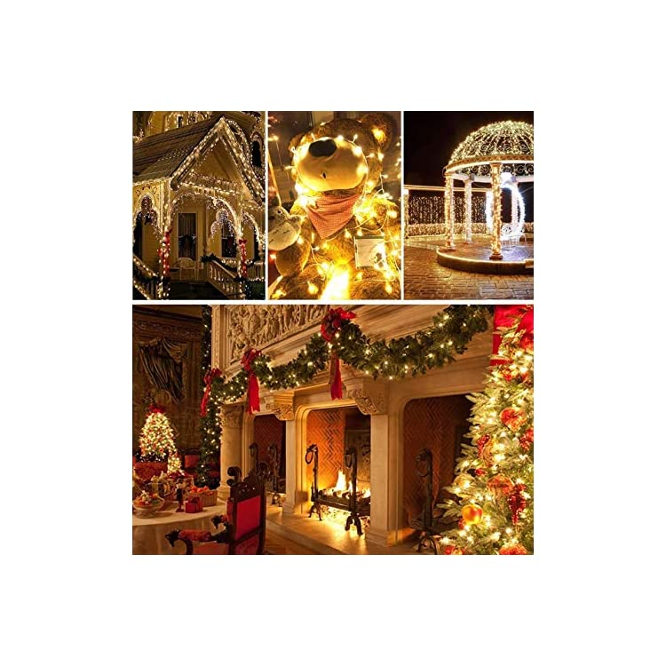 99FT-300-LED-String-Lights,-Low-Voltage-Plug-in-String-Lights-with-8-Flashing-Modes-for-Indoor-and-Outdoor,-Xmas,-Parties,-Garden,-Wedding,-Window,-Home-Decorations-(Warm-White).