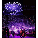 Easter-Outdoor-Light,66-Feet-/200-LED,Transparent-Wire-Waterproof-Twinkle-Decorative-for-Party,Cafe,-Patio,Home,Festival,Wedding,-Bedroom,Chirstmas,Indoor,Outdoor-String-Light(Purple)