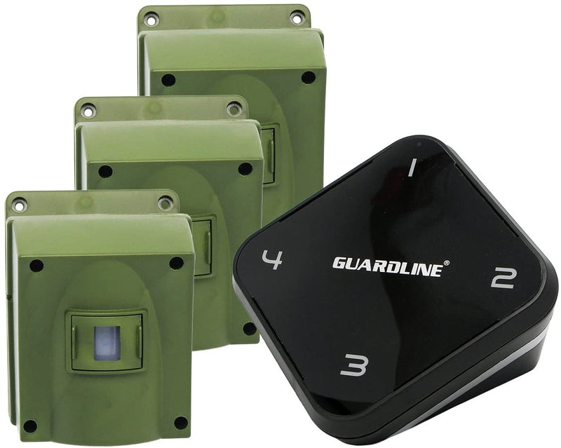 1/4-Mile-Long-Range-Wireless-Driveway-Alarm-w/Three-Sensors-Kit-Outdoo