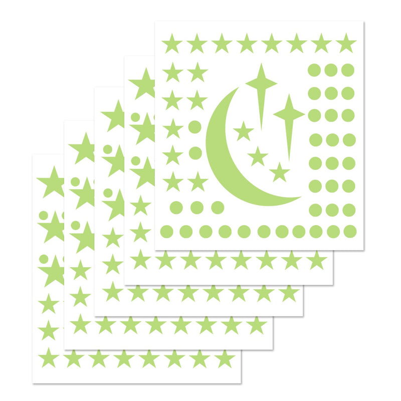 PARLAIM-300-PCS-Removable-Glow-in-The-Dark-Star-Wall-Stickers-Glowing-