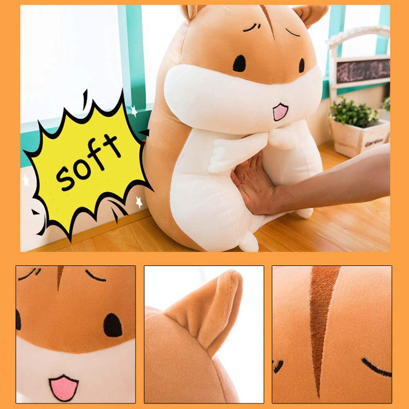 ERDAO-Hamster-Plush-Pillow,Soft-Hamster-Stuffed-Animals-Toy-Mouse-Plus