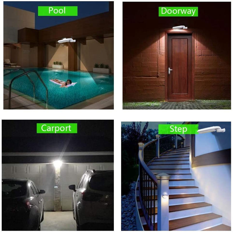 Led-Solar-Powered-Wall-Lights,-Dusk-to-Dawn-Motion-Sensor-Led-Street-L