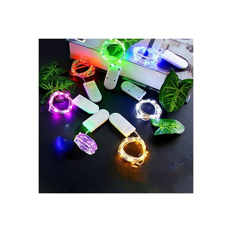 Fairy-Light-led-Battery-Powered-Color-Fairy-Lights,-24-Packs-10-feet-30-Lights-Mini-Waterproof-Light-String,-Fairy-Lights-String-for-Various-Decoration-Mixed-Color-(7-Colors)