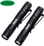[3-Light-Modes]-Hatori-Super-Small-Mini-LED-Flashlight-Pack-Handheld-P