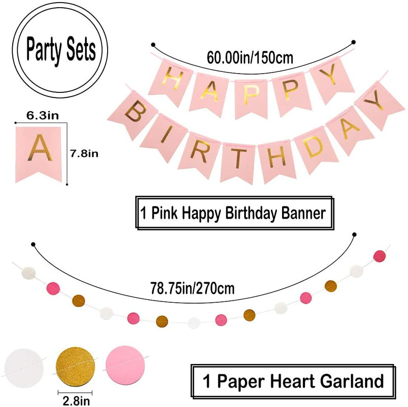 Pink-Gold-Party-Decorations-Decor-Supplies---Happy-Birthday-Banner|-Po